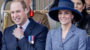 Prinz William und Herzogin Kate bei der Enthüllung der Irak-und-Afghanistan-Gedenkstätte in London