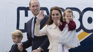 Prinz William und Herzogin Kate mit George und Charlotte in Kanada