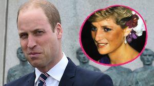 Prinz William und Prinzessin Diana (✝36)