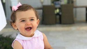 Schon 1 Jahr alt: Prinzessin Adrienne strahlt auf B-Day-Pic