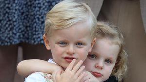So süß läuten die Monaco-Twins den Weihnachts-Countdown ein