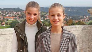 Leonor und Sofía: Die Weihnachtskarte der spanischen Royals
