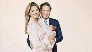 Madeleine von Schweden: Erstes Familien-Foto mit Adrienne!