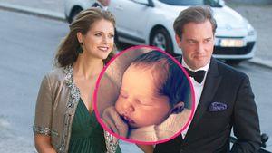 Prinzessin Adrienne: Taufe am Hochzeitstag von Mama & Papa