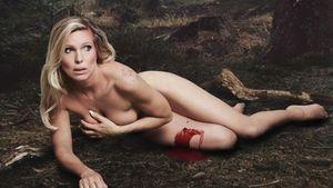 Prinzessin Maja von Hohenzollern auf einem PETA-Kampagnenbild