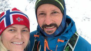 Dick eingepackt: Mette-Marit genießt Zweisamkeit mit Haakon