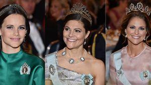 Prinzessin Sofia, Prinzessin Victoria und Prinzessin Madeleine von Schweden