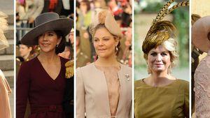 Prinzessin Victoria von Schweden, Mary von Dänemark, Caroline von Monaco und Prinzessin Maxima