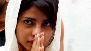 Nach Tod ihres Vaters: Priyanka Chopra hatte Depressionen