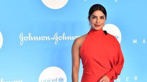 Strahlend schön: Priyanka Chopra in rotem Abendkleid