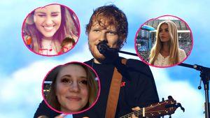 Trixi Giese und Co.: Ed Sheeran rührt in Berlin zu Tränen!