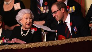 Queen Elisabeth und Prinz William