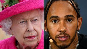 Sitznachbarn: Die Queen wies Lewis Hamilton zurecht!