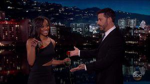 US-Bachelorette Rachel Lindsay bei Jimmy Kimmel