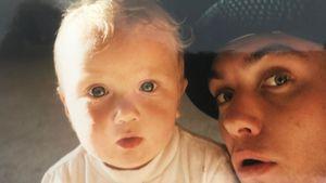 Niedlich! Rafferty Law teilt süßes Baby-Pic mit Vater Jude