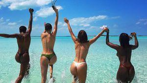 Oben ohne im Paradies: Welche Promi-Girls ziehen hier blank?