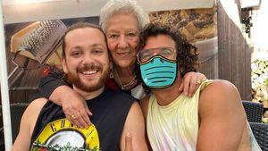 Riccardo Simonettis Freund hat seine Oma kennengelernt!
