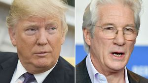Donald Trump und Richard Gere