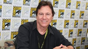 Richard Hatch auf der Comic Con in San Diego