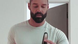 Ricky Martin verpasst seinem Ehemann Jwan eine Glatze