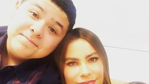 Rico Rodriguez mit Serien-Mama Sofia Vergara