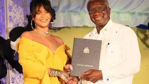Ganz gerührt: Rihanna weiht eigene Straße auf Barbados ein