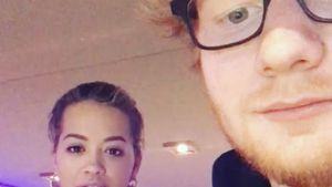 Wieder vereint: Rita Ora und Ed Sheeran gemeinsam im Studio!