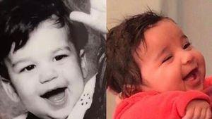 Rob Kardashian als Baby und Tochter Dream Renee