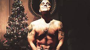Nackte Weihnacht: Robbie Williams sendet heiße Xmas-Grüße!