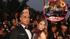 Süß! So feiert Robbie Williams den Geburtstag seiner Tochter