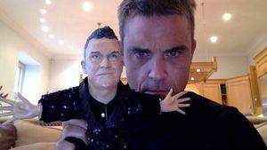 Robbie Williams und sein Dopplegänger