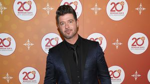 Robin Thicke auf einer Party in Uncasville