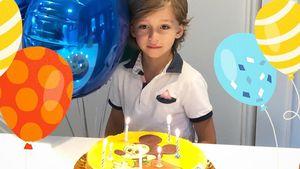 Müder B-Day-Boy! Verona Pooths Sohn Rocco wird sieben Jahre