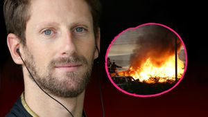 Auto stand in Flammen: Horrorunfall bei Formel-1-Rennen!