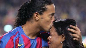 Trauer zu groß: Ronaldinho fehlt bei Begräbnis seiner Mutter