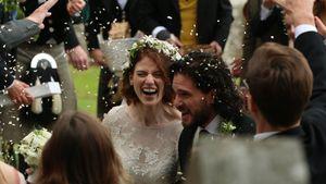 Hochzeits-Eindringling! GoT-Fan filmte Kit Harington & Rose