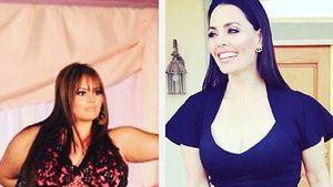 Rosie Mercado vorher und nacher