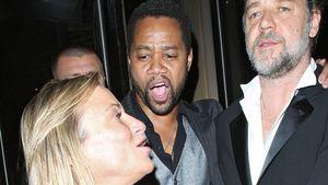 Warum schubst Russell Crowe diese Frau?