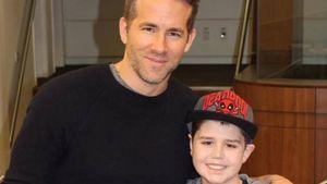 Ryan Reynolds mit krebskrankem Jungen Connor