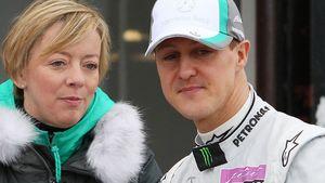 Michael Schumacher und seine Managerin Sabine Kehm