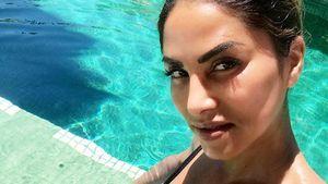 Sexy Lebenszeichen: Sabrina Setlur als Malle-Pool-Babe!