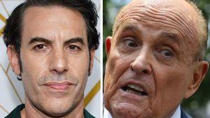 """""""Borat""""-Skandal: Trump-Anwalt fasst sich im Film in die Hose"""
