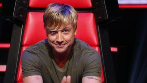 Samu Haber auf dem roten Stuhl bei The Voice of Germany