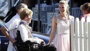 Samuel Koch und seine schöne Braut Sarah Elena Tempe