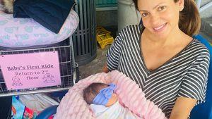 Ungewöhnlicher Name! Yotta-Ex Sandra hat ihr Baby bekommen