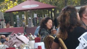 "Erwischt! ""Grey's Anatomy""-Star Sandra Oh mitten in Berlin!"