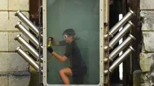 "Platzangst: Sarah Lombardi unter Wasser bei ""Fort Boyard"""
