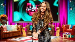 "Sarah Lombardi in der Sendung ""Die Hitrekorde - Champions der 90er"""