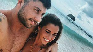 Trotz Stress: Hier haben es Sarah und Roberto noch versucht