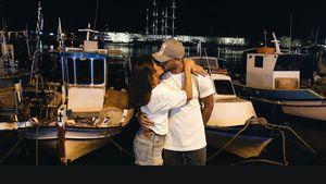 Kussfoto am Meer: So verliebt urlaubt Sarah mit Roberto!